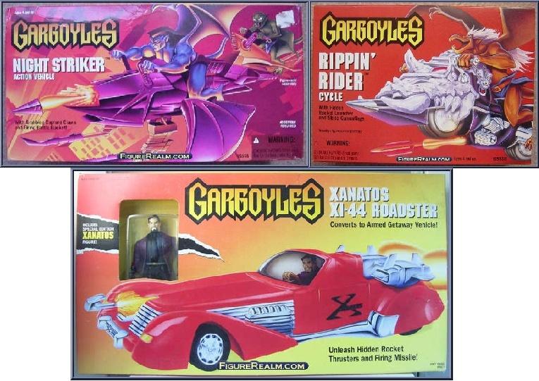 GARGOYLES (Kenner) 1995 Vehicu10