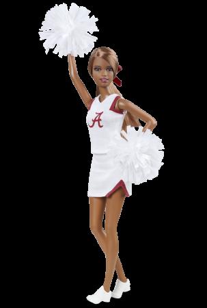 University Barbie doll Alabam12