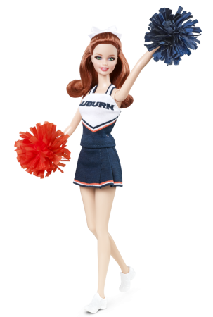 University Barbie doll Auburn10