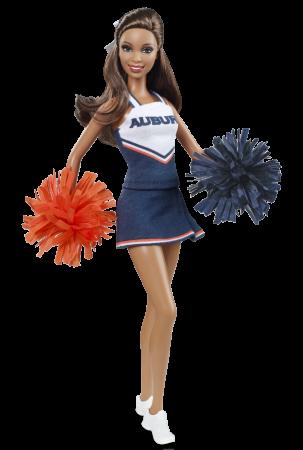 University Barbie doll Auburn11
