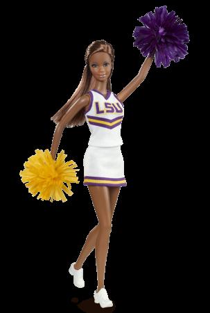 University Barbie doll Lsu_aa10
