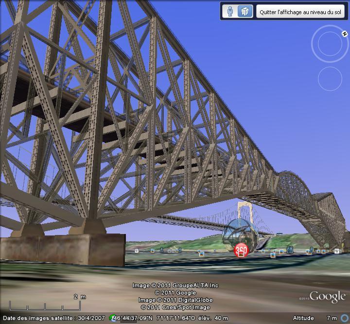 Ponts parallèles à Québec, Québec, Canada 2_pont12