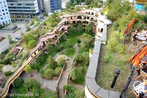 La forêt en spirale (ou Waldspirale) à Darmstadt - Allemagne Foret_12