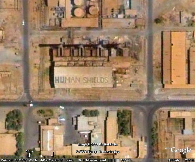 "Ecriture ""Human Shields"" à Bagdad - Irak Human_10"