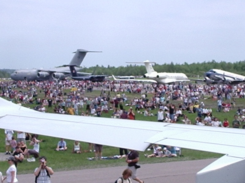 Festival aérien de Québec, Aéroport Jean-Lesage, Qc, Canada P4080214
