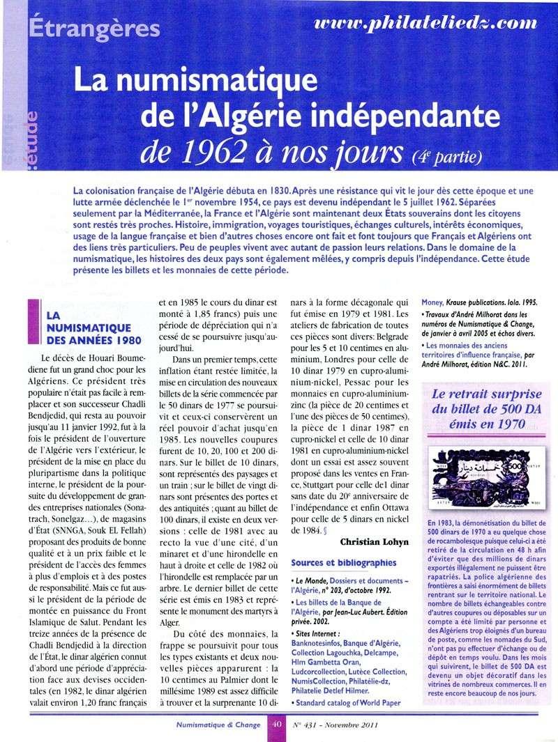 L'Algérie indépendante : 4ème partie 1-02510