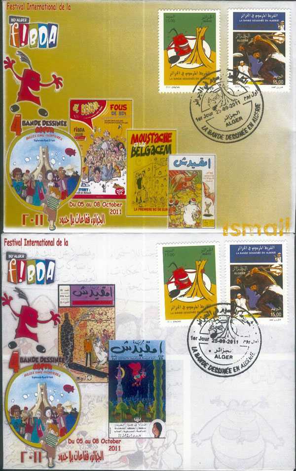 La Bande Dessinée en Algérie  1311