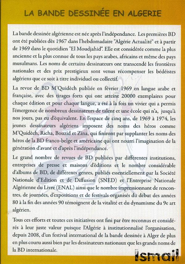 La Bande Dessinée en Algérie  418