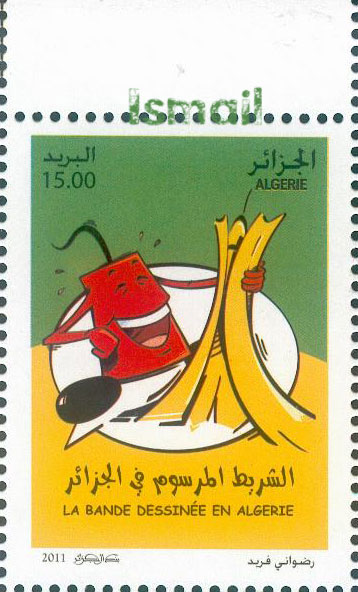 La Bande Dessinée en Algérie  S110