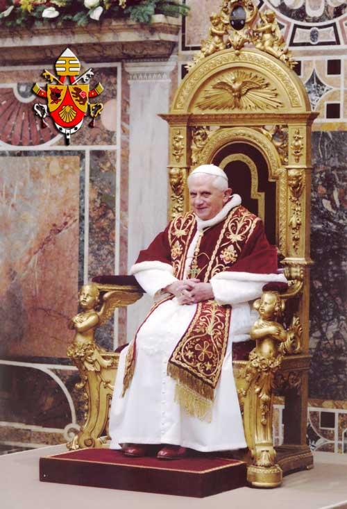 L'Institut du Christ-Roi élevé au Droit Pontifical Popebe10
