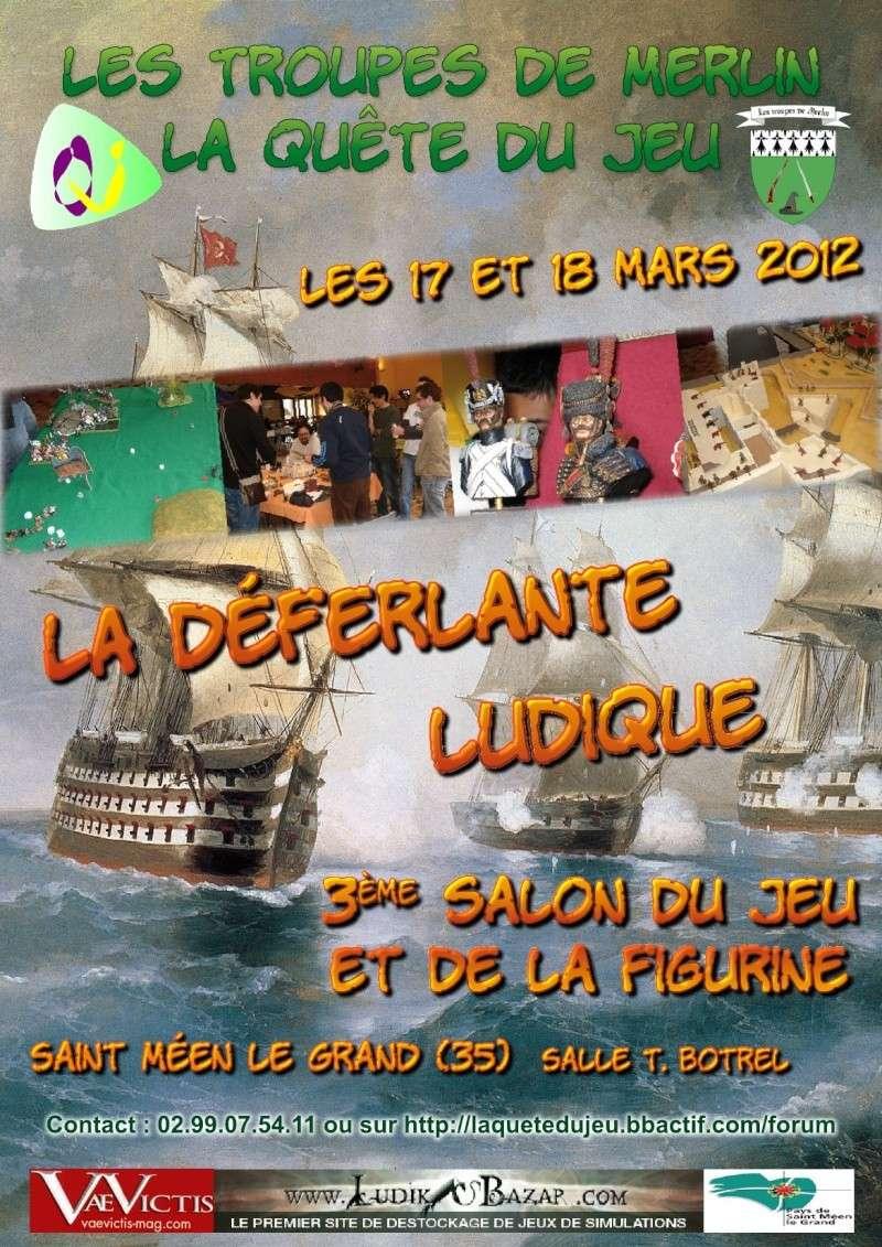 Déferlante ludique à St-Méen le Grand, les 17 et 18 Mars 2012.  Affich10