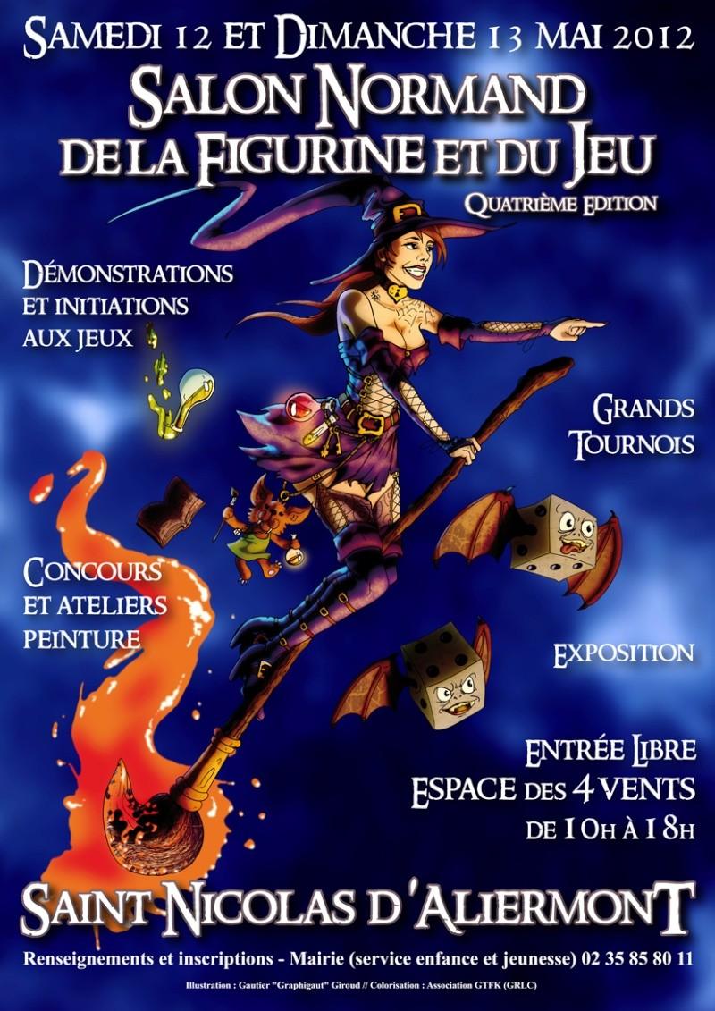 Salon Normand de la figurine 12-13 mai 2012 Affich11