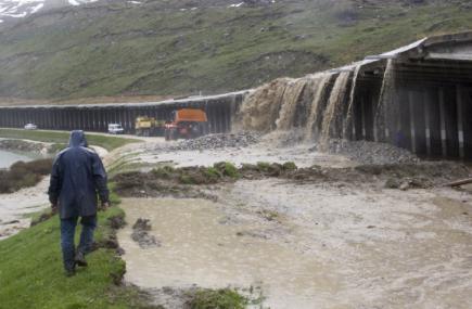 Les pluies à Val d'Isère (et en Tarentaise) 05291910