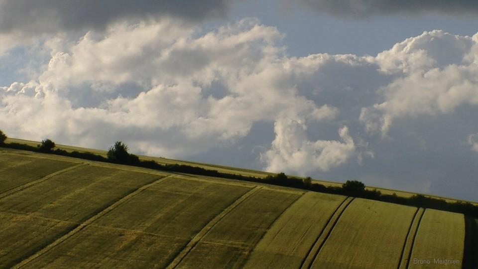 Presqu-orages du 7 juin - belle balade champenoise ! Traine10