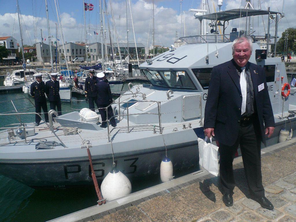 [ Divers Gendarmerie Maritime ] P613 Charente une VCSM de la Gendarmerie Maritime 723