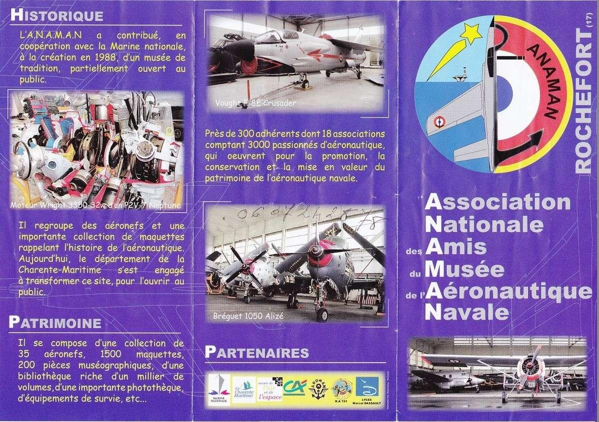 [ Les Musées en rapport avec la Marine ] Musée de l'Aeronautique Navale de Rochefort - Page 3 Assoc10