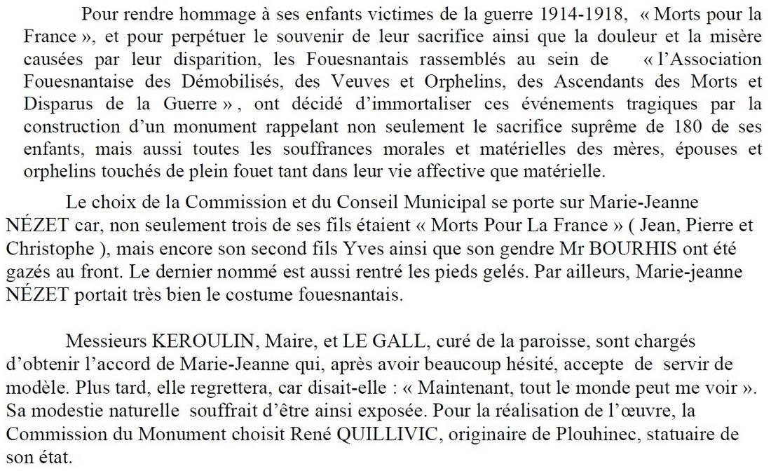 [Histoires et Histoire] Monuments aux morts originaux Français Tome 1 Fouesn12