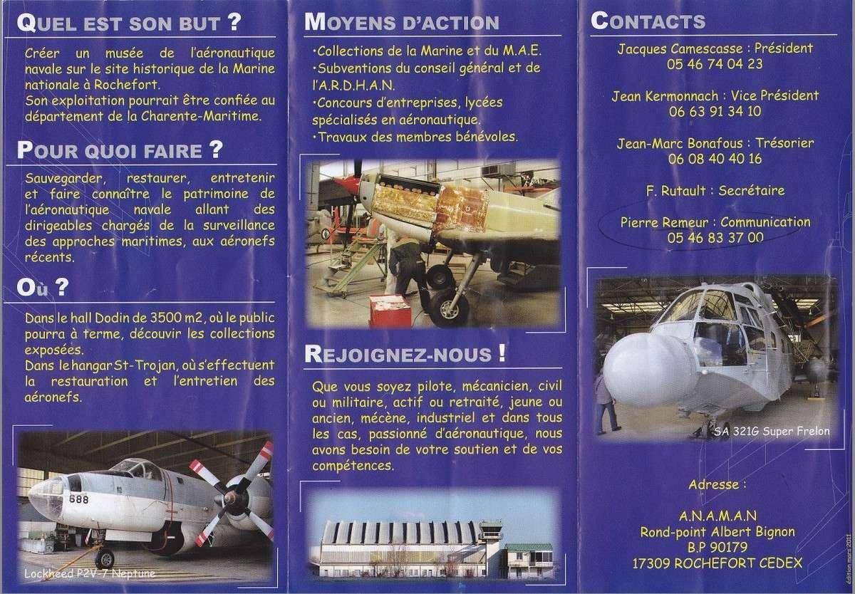 [ Les Musées en rapport avec la Marine ] Musée de l'Aeronautique Navale de Rochefort - Page 3 Rochef11