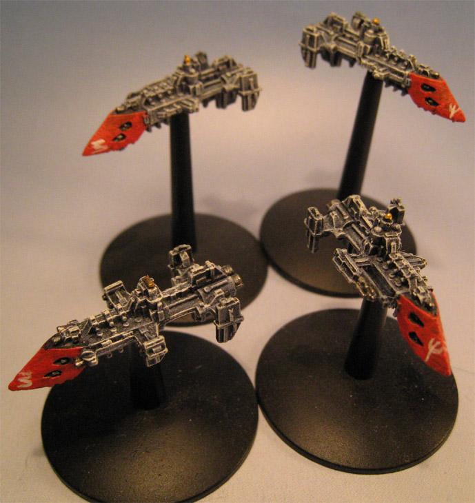 La flotte du Secteur Burgundianionis Cobras10