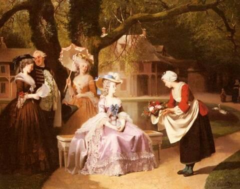 La Reine Marie-Antoinette par Joseph Caraud