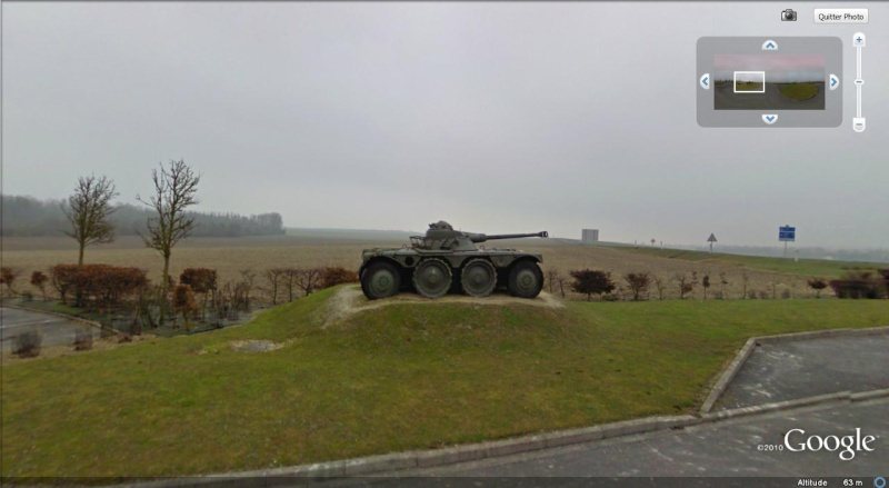 STREET VIEW: Véhicules militaires Char10