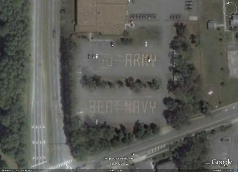 """Ecriture """"GO ARMY BEAT NAVY"""" à Virginia Beach, Virginie - USA Go_arm10"""
