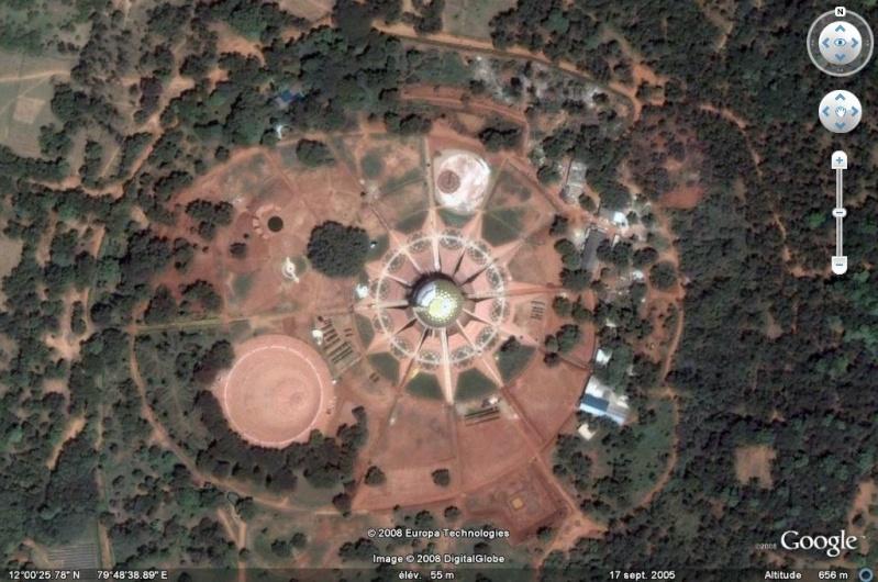 Temple Matrimandir, Auroville, Inde [Trouvé par PBMatcho] - Page 2 Inde10