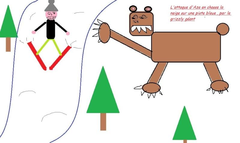 Petit sacri au ski ! Grizze10