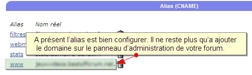 Reconfigurer un nom de domaine externe pour qu'il dirige vers votre forum Firesh20