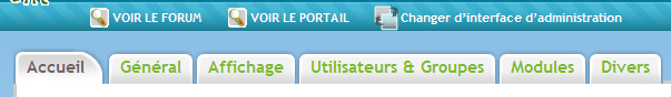 Widgets !!! + Administration du portail en mode Drag & Drop Firesh26