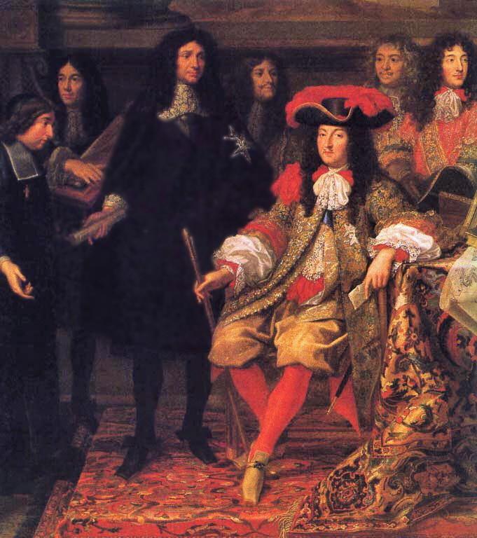 Une journée du roi Louis 14 Louis_10
