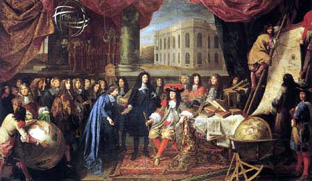 Une journée du roi Louis 14 Louis_11