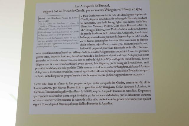 Les ruines gallo romaines de Vendeuil Caply  Musae110
