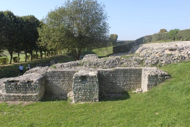 Les ruines gallo romaines de Vendeuil Caply  Vendeu13