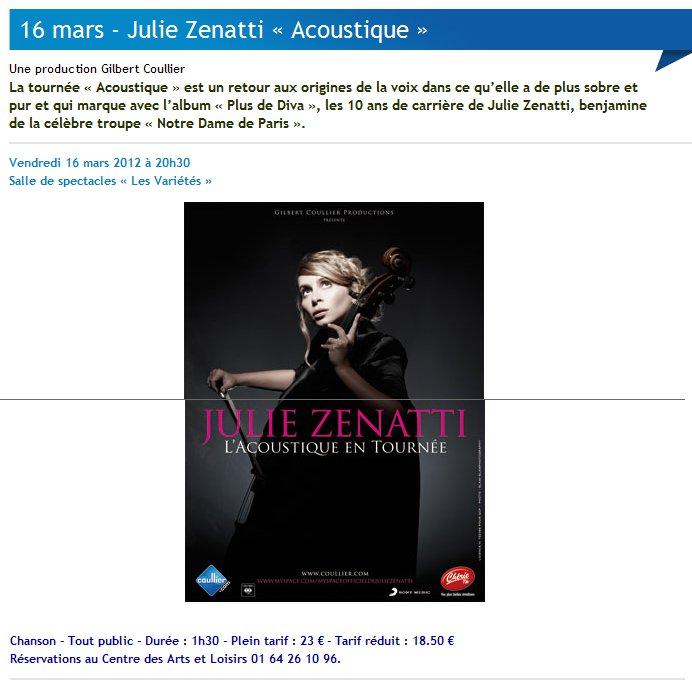 """Julie zenatti en concert à la Salle municipale de spectacles """"Les variétés"""" à Vaires-sur-Marne le 16 mars 2012 - Page 2 Acoust10"""