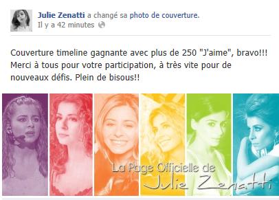 Le Facebook officiel de Julie Zenatti - Page 21 Couv11