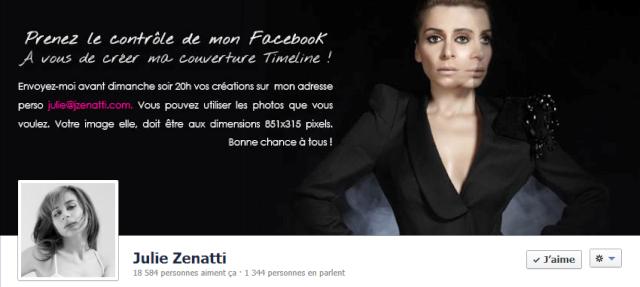 Le Facebook officiel de Julie Zenatti - Page 21 Fb14
