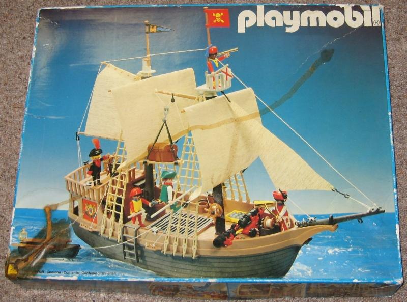 PLAYMOBIL : le thème des PIRATES ( Vintage ) Boite_10