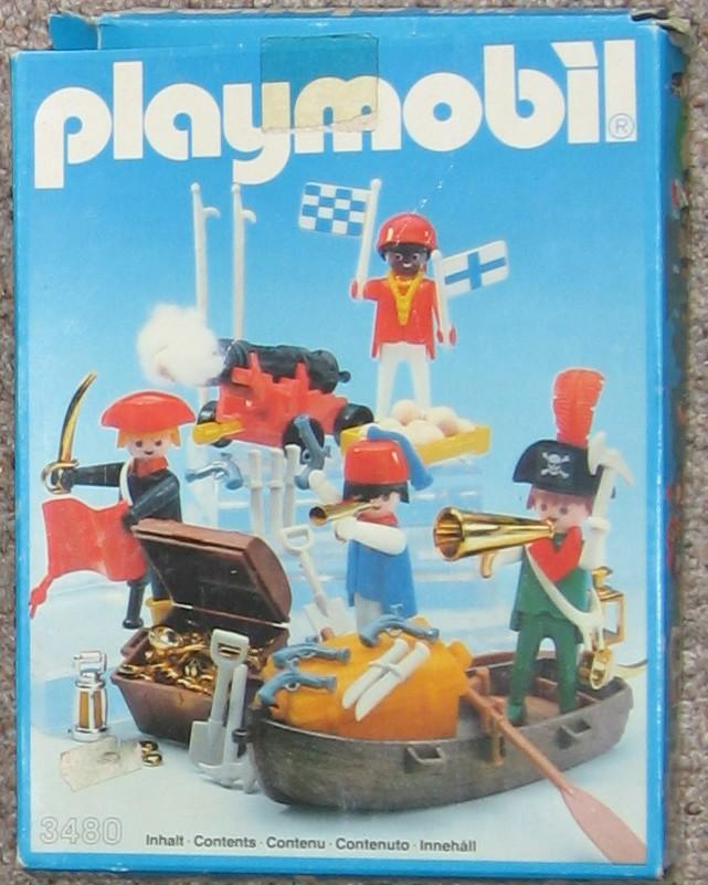 PLAYMOBIL : le thème des PIRATES ( Vintage ) Boite_11