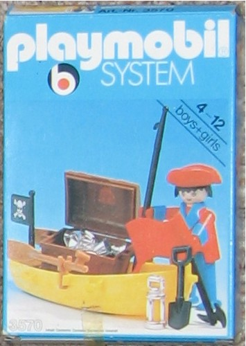 PLAYMOBIL : le thème des PIRATES ( Vintage ) Boite_12