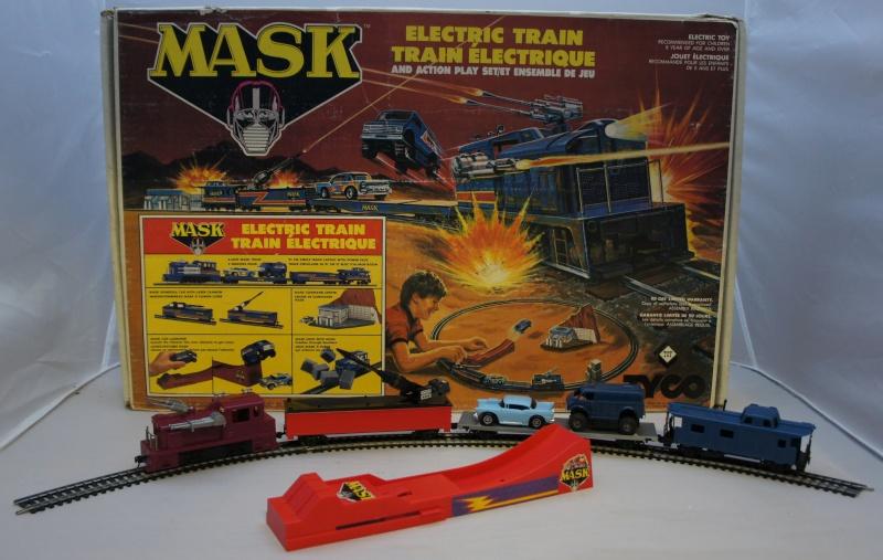 Les trains Tyco dérivés de dessins animés, TV, ciné... Maskty10
