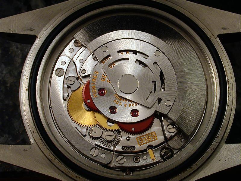 16710 - Rolex GMTII 16710 3185-110