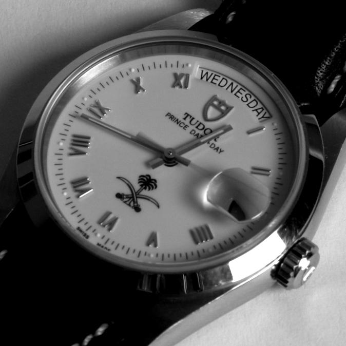 Rolex dials arabic logo Day710