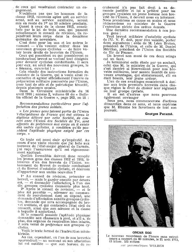 Article faisant référence aux groupes cyclistes Nouvel22