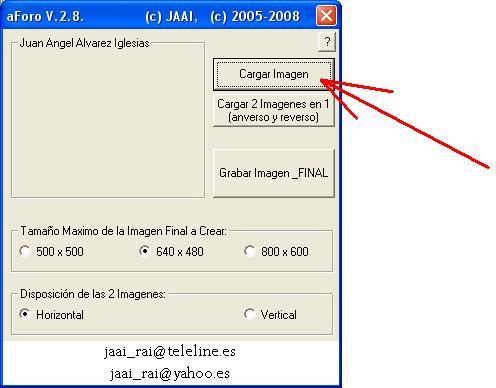 Programa/Utilidad para gestion de imagenes aForo Abrir110