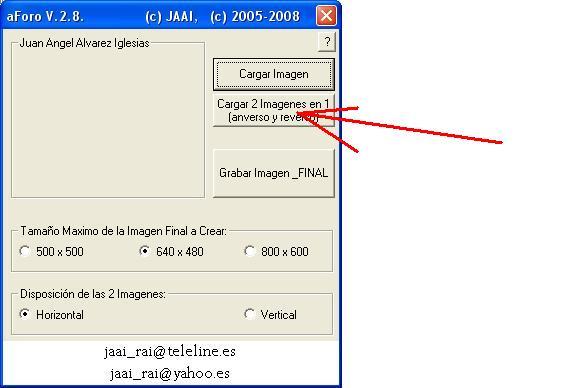 Programa/Utilidad para gestion de imagenes aForo Abrir210