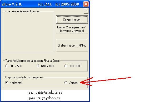 Programa/Utilidad para gestion de imagenes aForo Modoim10