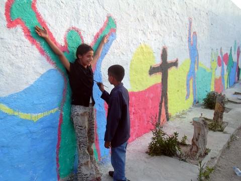 جداريات للاطفال بفكرة بسيطة 31510