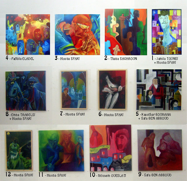 معرض طلبة معهد الفنون والحرف بالقيروان أفريل 2008 Expo_e10