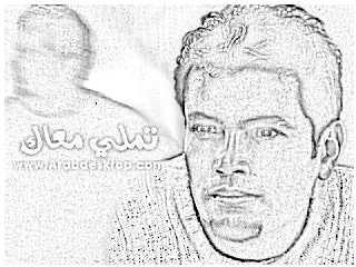 صور مرسومة للهضبة عمرو دياب 11510